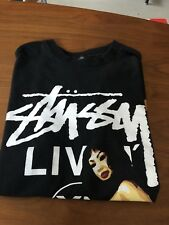 USED MENS AUTHENTIC STUSSY T SHIRT SIZE L
