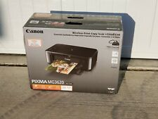 Canon Pixma Mg3620 Wireless All-In-One Inkjet Printer Ink Included Fast Ship