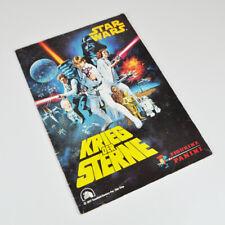 Star Wars - Krieg der Sterne - Figurine Panini - altes Sammelalbum - 1977