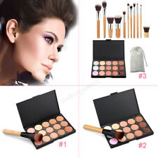 15 Shades Colour Concealer Contour Makeup Palette Kit Make Up Set Palette UK