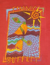 Jimmy Buffett Vintage 80s M Concert Tour T-Shirt USA Parrothead Parrot Rare