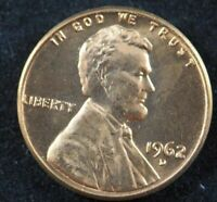 1962 D Lincoln Memorial Cent Penny (BU) Brilliant Uncirculated US Coin