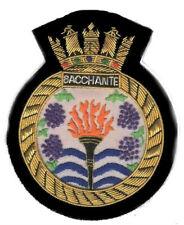 British HMS Royal Navy Bacchante Frigate Patrol Persian Gulf Patch Badge Patrol