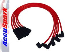 Ford Escort,Capri,Cortina,Fiesta Crossflow 8mm Silicone Accuspark HT leads RED