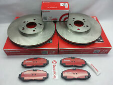 2-Brembo 25488 Front Disc Brake Rotor & Brembo Pad Kit for Toyota 4Runner