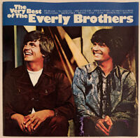 THE EVERLY BROTHERS THE VERY BEST OF CD WARNER BROS USA CLUB PRESS NO BARCODE