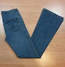 Guess Women's Flare Jeans Size 26 Blue Medium Wash