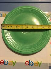 Vintage Green Ring Plate 9 3/8 Inches