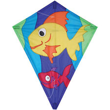 """Kite Two Fish 25"""" Diamond Kite.10. Pr 15482"""