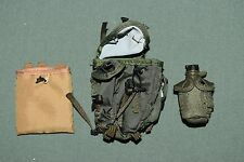 "ACE 1:6 Modern US Army Backpack Canteen Bag Gear for 12"" Action Figures C-70"