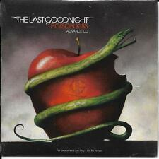 CD CARTONNE CARDSLEEVE COLLECTOR 12T THE LAST GOODNIGHT POISON KISS 2007 NEUF