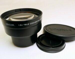 MINOLTA 1.5x TELE CONVERTER VLT - 500 AUX Lens