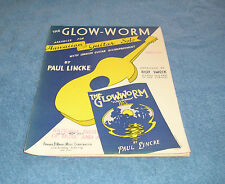 THE GLOW-WORM HAWAIIAN GUITAR SOLO SHEET MUSIC
