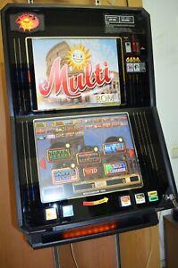 Multi Rom Basic mit 50 Spiele MC Euro Geldspielgerät Geldspieler Spielautomat