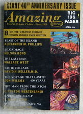 AMAZING SCIENCE FICTION April 1966 Operation R.S.V.P. by H. Beam Piper