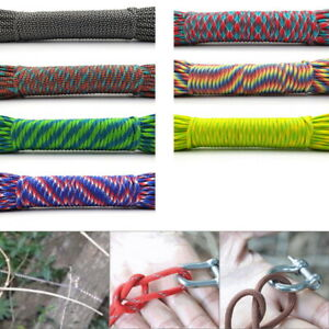 7 Strand Core Cord 550 Paracord Parachute Rope Lanyard Survival Travel Outdoor