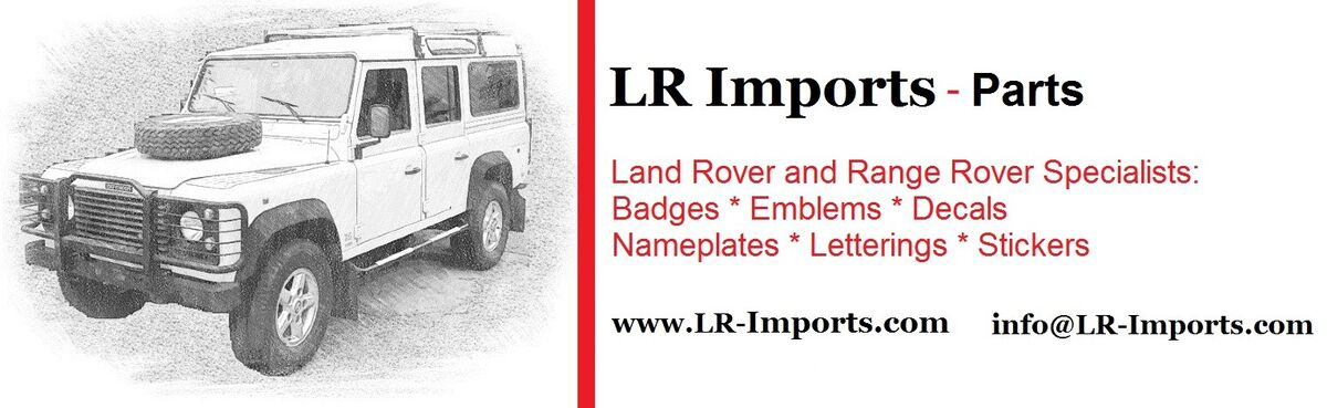 LR Parts from LR Imports