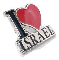 New Jewish Lapel Pin I Love israel Jewish State Holy Land Judaica