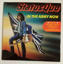 "Status Quo In The Army Now Single 7""X2 UK 1986 Gatefold"