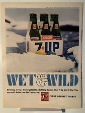 1966 7up Wet and Wild - GM AC Oil Filter - Magazine Ad