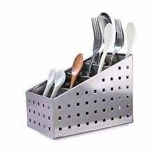 Cutlery Utensil Caddy Stainless Steel Flatware Organizer Holder