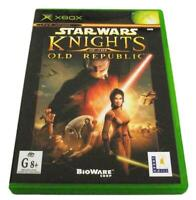 Star Wars Knights of the Old Republic XBOX Original PAL *Complete*