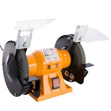 Amoladora de banco Eléctrica 150W 150 mm Esmeriladora Doble Disco con protector