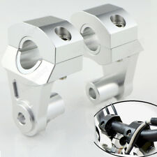 HandleBar Handle Fat Bar Mount Clamp Riser For Suzuki GS500/E/F GSR600 750 22mm