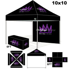 Party Marquee Canopy 10X10 Custom LOGO Printed Pop Up Event Trade Show Tent