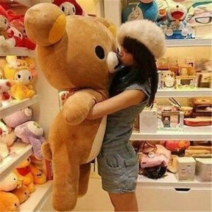 2020 San-X Rilakkuma Bear Animal Soft Toys Doll 80cm Stuffed Giant Popular Plush