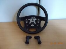 VOLVO V70 SE 2006 MULTIFUNCTION LEATHER STEERING WHEEL IN BLACK