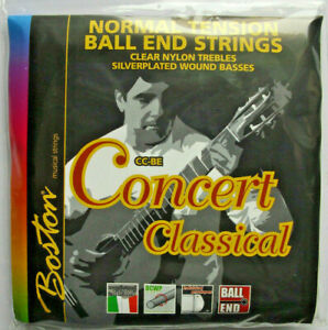 Boston Strings Concert Classical Gitarrensaiten Normal Tension Ball-End