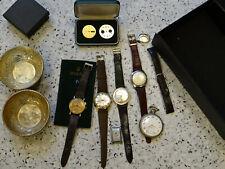 Lot. Konvolut.ZENITH, LONGINES, LACO, ROLEX Etui, Armbanduhren, Taschenuhr usw..