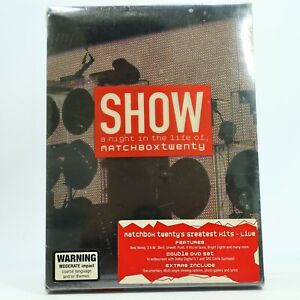 Matchbox Twenty Show A Night in the Life DVD New Sealed Free Tracked Post