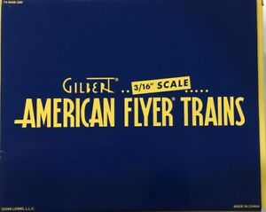 AMERICAN FLYER 6-48426 S SCALE COMMEMORATIVE 3 CAR FREIGHT PACK TANK STOCK GONDO