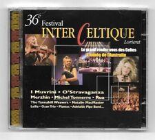 RARE COFFRET CD + DVD / 36éme FESTIVAL INTER CELTIQUE LORIENT / 19 TITRES + DVD