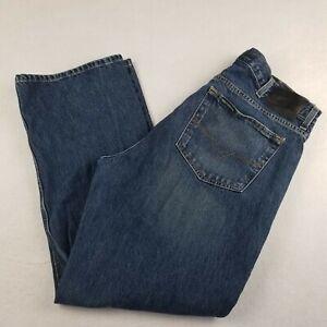 Harley Davidson Jeans Size 38x30 Original Relaxed Straight Blue Denim Cotton