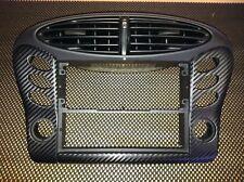 986 Carbon Fiber Finish Center Dash AC & Switch Panel Covers '97-'02
