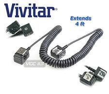 TTL Off Camera FLASH Shoe Sync Cord for Nikon SC-28 SC-29 VIV-FC-NIK