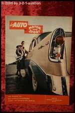 AMS Auto Motor Sport 4/56 Chevy Corvette Peugeot 304 VW