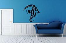 Wall Sticker Vinyl Decal Fish Marine Ocean Decor Nice for Bathroom (ig1157)