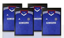 Frame 4X for Signed Football Shirt - DIY Silver