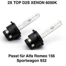 2x d2s 6000k 35w XENON TÜV LIBERO ALFA ROMEO 156 Sportwagon 932