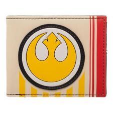 Star Wars The Last Jedi Rebel Pilot Logo Bifold Wallet Ep 8 Resistance Brand NEW
