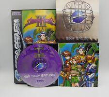 Shining Force III Sega Saturn PAL Euro - Boite / Notice