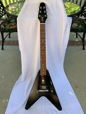 Gibson 2011 USA Melody Maker Flying V Satin Black Excellent Condition