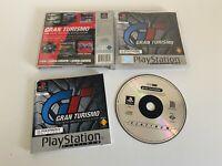 PS1 Gran Turismo Platinum Edition - Complete - GC - Free P&P