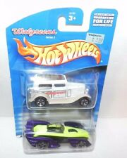 HOT WHEELS ~ WALGREENS SERIES 3 - 2 PACK from 2000 ~ NEW in Package - Free Ship!