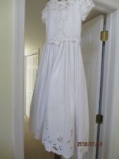 cinderella Flower Girl /Communion  dress with veil and terria
