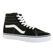 0acbf96a1a Men Women VANS Sk8 Hi Black White Vn000d5ib8c Original Skateboarding SHO 8